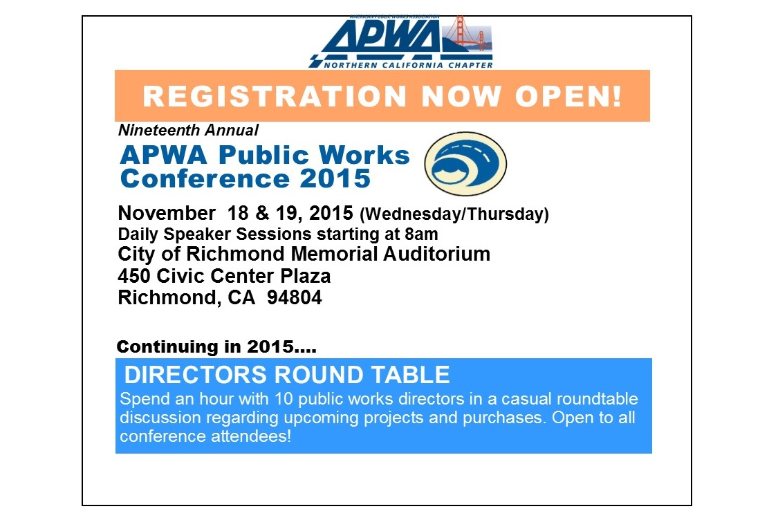 2015 PW Conference - Register Today!