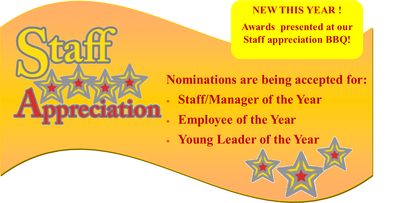 Staff Appreciation Banner